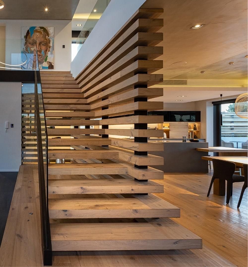 pearl valley oak stairs
