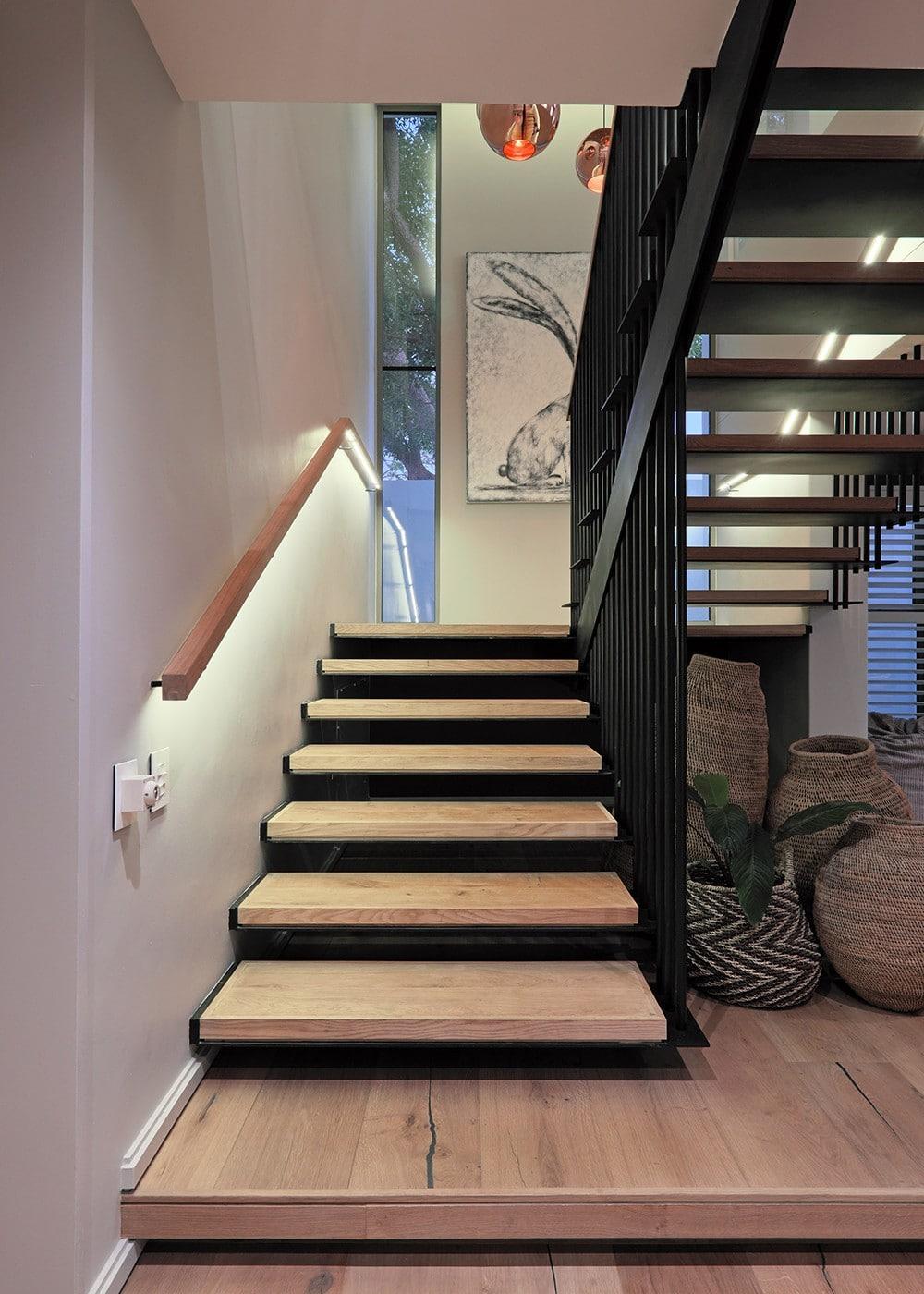 wood flooring stairs