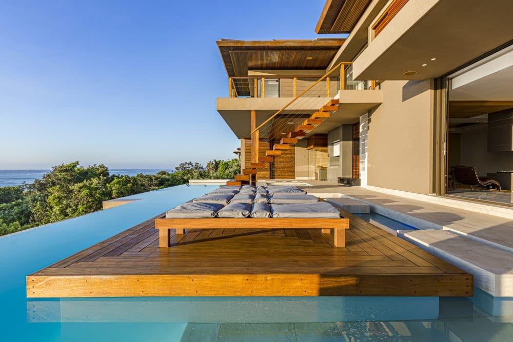 wooden architectural design